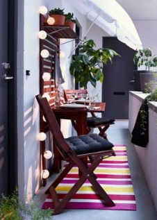 Relaxing Tiny Balcony Decor Ideas To Try This Month 19