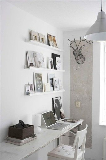 Splendid Deer Shelf Design Ideas With Minimalist Scandinavian Style To Try 12