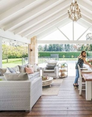 Unordinary Outdoor Living Room Design Ideas To Have Asap 17