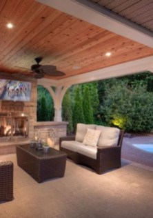 Unordinary Outdoor Living Room Design Ideas To Have Asap 21