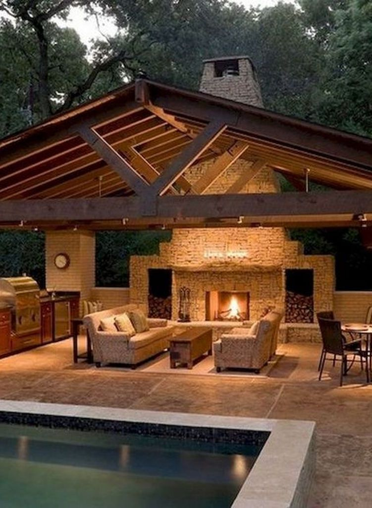 Unordinary Outdoor Living Room Design Ideas To Have Asap 26