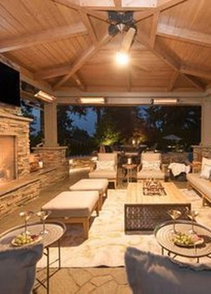 Unordinary Outdoor Living Room Design Ideas To Have Asap 35