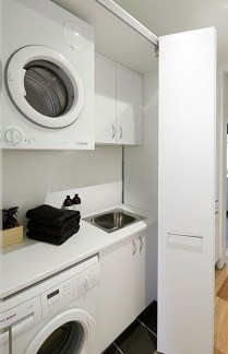 Unusual Laundry Arranging Design Ideas For Small Space To Try 32