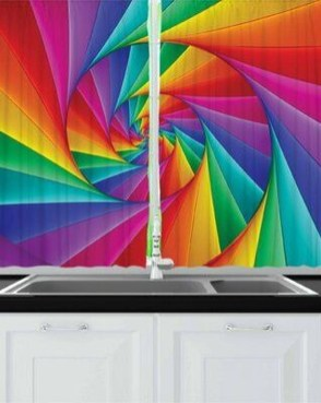Adorable Rainbow Colorful Kitchens Design Ideas To Looks More Awesome 09