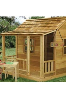 Attractive Outdoor Kids Playhouses Design Ideas To Try Right Now 02