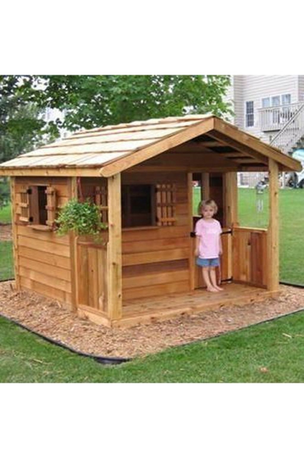 Attractive Outdoor Kids Playhouses Design Ideas To Try Right Now 09