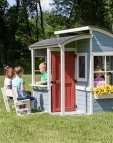Attractive Outdoor Kids Playhouses Design Ideas To Try Right Now 19