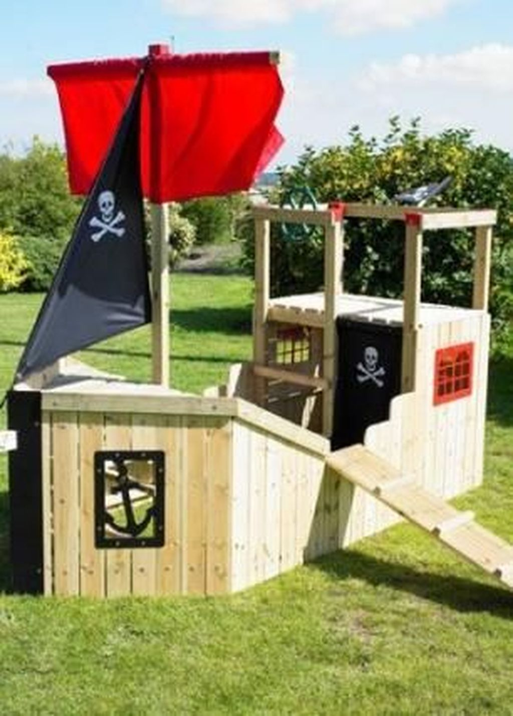 Attractive Outdoor Kids Playhouses Design Ideas To Try Right Now 32