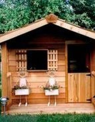 Attractive Outdoor Kids Playhouses Design Ideas To Try Right Now 34