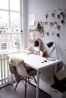 Captivating Girl Workspace Design Ideas That Looks So Cute 02