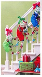 Charming Winter Staircase Design Ideas With Banister Ornaments To Try Asap 35