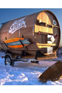 Cool Bathhouse Winter Camp Design Ideas With Rural Accents To Have Right Now 19