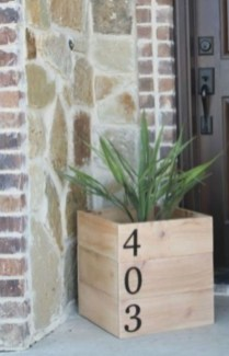 Cool Diy House Number Projects Design Ideas That Looks More Elegant 29