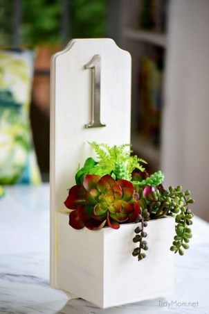Cool Diy House Number Projects Design Ideas That Looks More Elegant 38