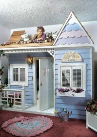 Cute Indoor Playhouses Design Ideas That Suitable For Kids 07