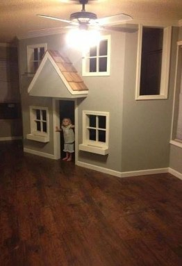 Cute Indoor Playhouses Design Ideas That Suitable For Kids 08