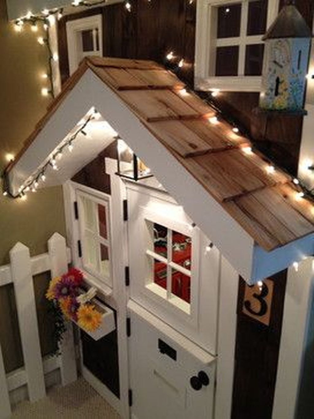 Cute Indoor Playhouses Design Ideas That Suitable For Kids 18