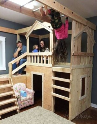 Cute Indoor Playhouses Design Ideas That Suitable For Kids 25