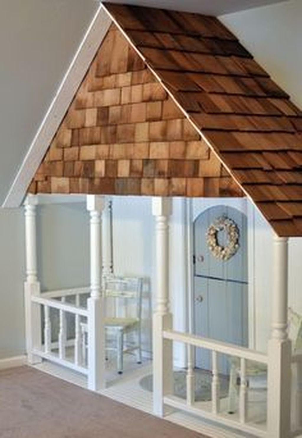 Cute Indoor Playhouses Design Ideas That Suitable For Kids 27