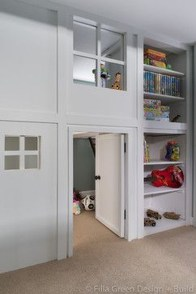 Cute Indoor Playhouses Design Ideas That Suitable For Kids 30