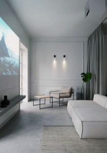 Elegant Apartments Design Ideas That Celebrate Minimalist Style 31