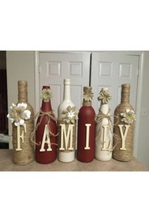 Fascinating Diy Wine Bottle Design Ideas That You Will Like It 10