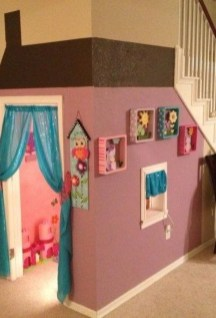 Favorite Kids Playhouses Design Ideas Under The Stairs To Have 02