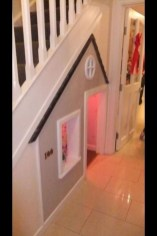 Favorite Kids Playhouses Design Ideas Under The Stairs To Have 08