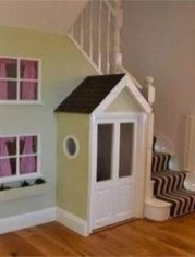 Favorite Kids Playhouses Design Ideas Under The Stairs To Have 10