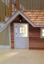 Favorite Kids Playhouses Design Ideas Under The Stairs To Have 27