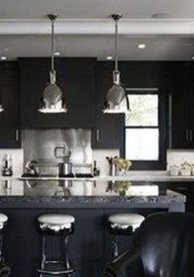 Modern Black Kitchens Design Ideas For Bachelors Pad To Try Asap 17