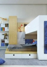 Perfect Kids Room Design Ideas That Suitable For Two Generations 04