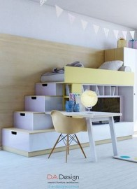 Perfect Kids Room Design Ideas That Suitable For Two Generations 05