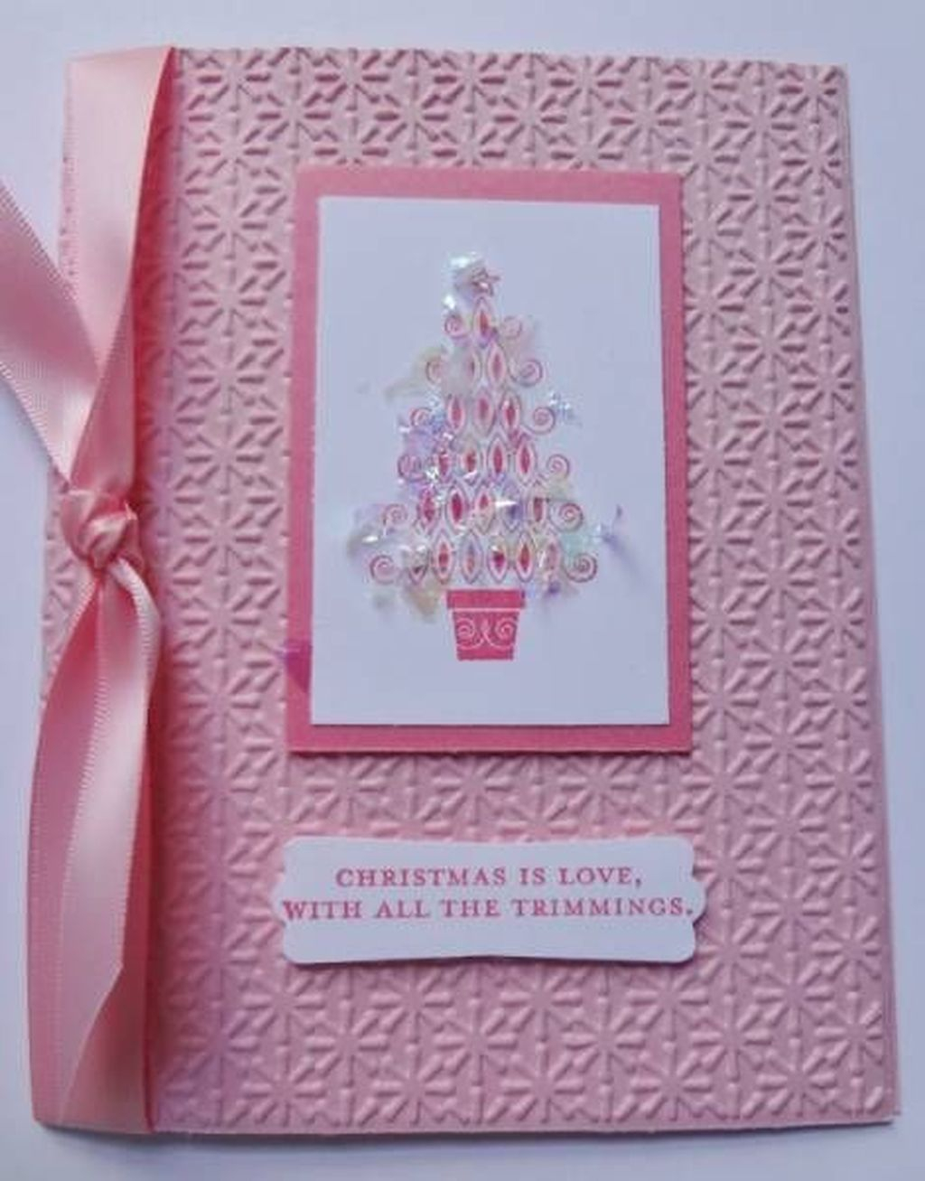 Sophisticated Pink Winter Tree Design Ideas That Looks So Cute 09