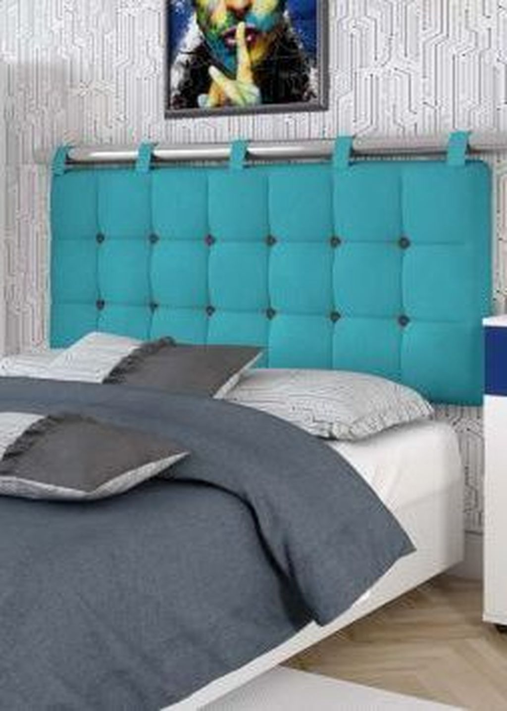 Stylish Diy Bedroom Headboard Design Ideas That Will Inspire You 11