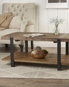Adorable Wooden Furniture Design Ideas For Rustic Living Room To Have 31