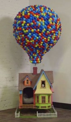 Amazing Pixar Up House Design Ideas Created In Real Life And Flown 06