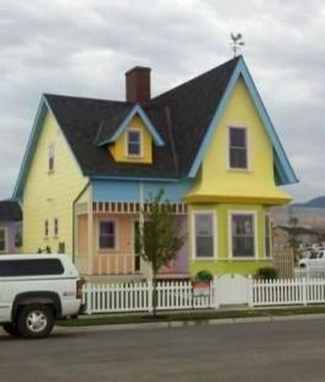 Amazing Pixar Up House Design Ideas Created In Real Life And Flown 27