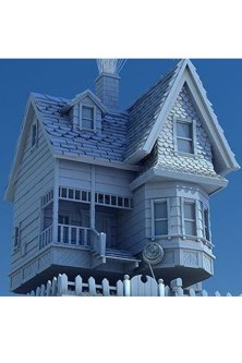 Amazing Pixar Up House Design Ideas Created In Real Life And Flown 29