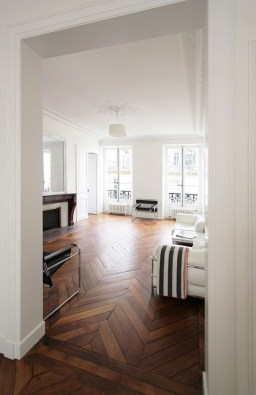 Attractive Living Room Design Ideas With Wood Floor To Try Asap 18