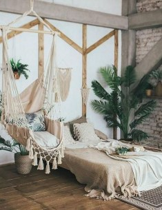 Brilliant Bedroom Design Ideas With Nature Theme 33