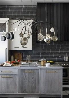 Extraordinary Black Backsplash Kitchen Design Ideas That You Should Try 02