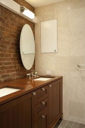 Fabulous Bathroom With Wall Brick Decoration Ideas To Try Asap 18