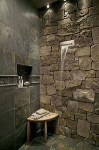 Fabulous Bathroom With Wall Brick Decoration Ideas To Try Asap 28