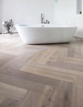 Fancy Wood Bathroom Floor Design Ideas That Will Enhance The Beautiful 08