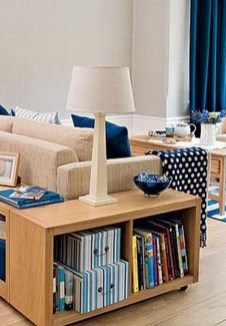 Interesting Living Rooms Design Ideas With Shelving Storage Units 23