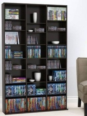 Interesting Living Rooms Design Ideas With Shelving Storage Units 26