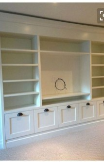 Interesting Living Rooms Design Ideas With Shelving Storage Units 38
