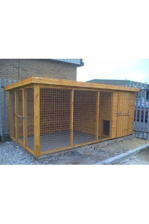 Interesting Outdoor Dog Houses Design Ideas For Pet Lovers 05