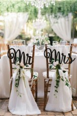 Magnificient Outdoor Wedding Chairs Ideas That Suitable For Couple 04